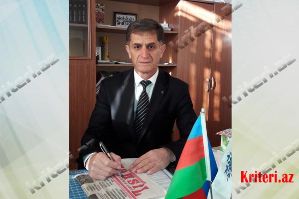 Lerik Rayon Təhsil Şöbəsinin müdiri Zöhrab Salayev...